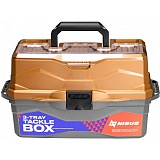Ящик для снастей Tackle Box 3-хполоч.Nisus золотой 242374